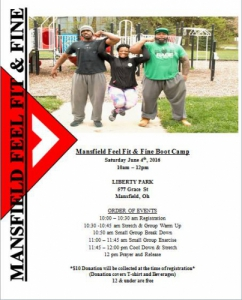 Mansfield Feel Fit & Fine Boot Camp
